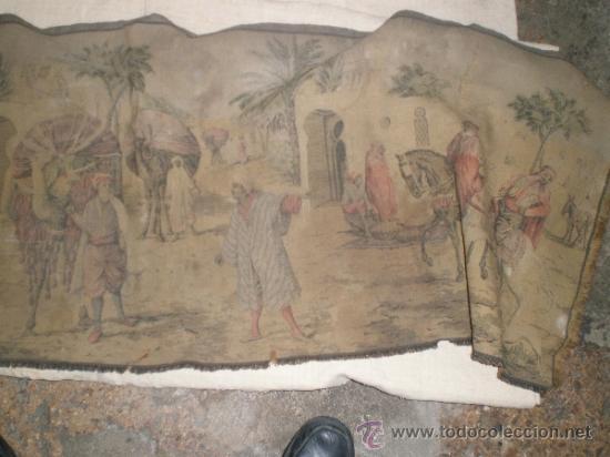 Antigüedades: tapiz maquina - Foto 2 - 34294211