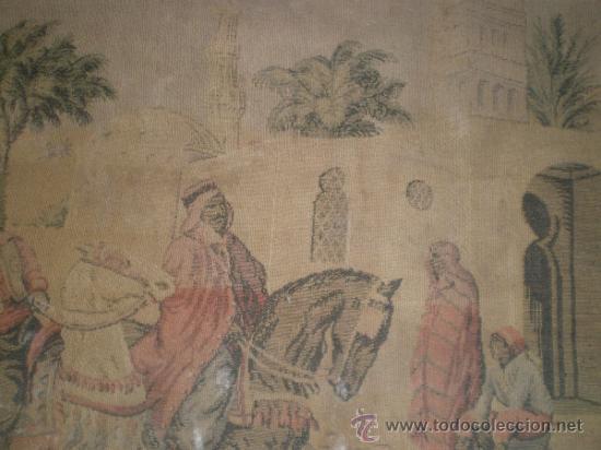 Antigüedades: tapiz maquina - Foto 7 - 34294211