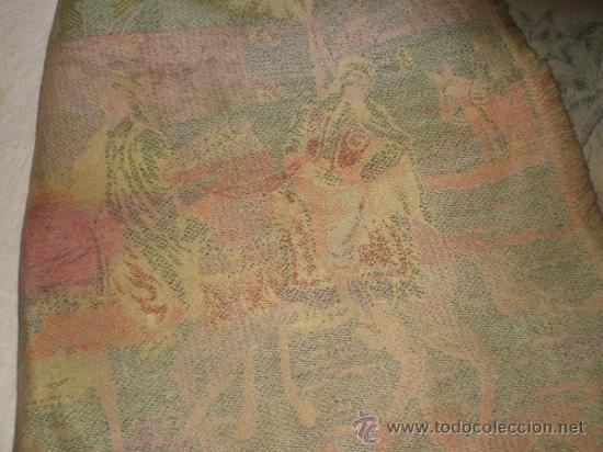 Antigüedades: tapiz maquina - Foto 11 - 34294211
