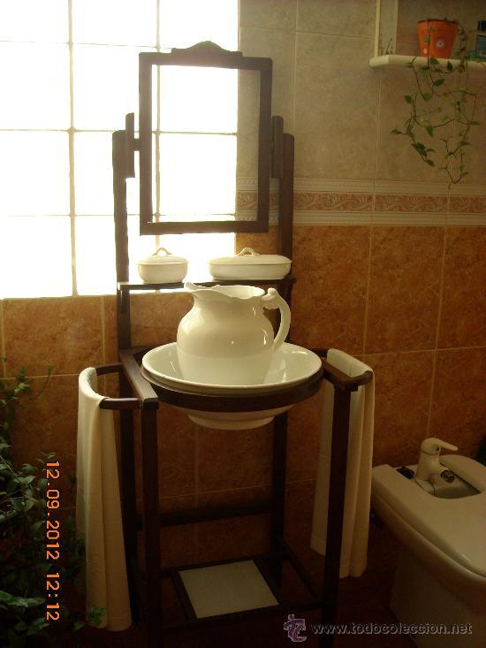 Antiguo mueble de lavabo totalmente restaurado comprar Muebles de lavabo online