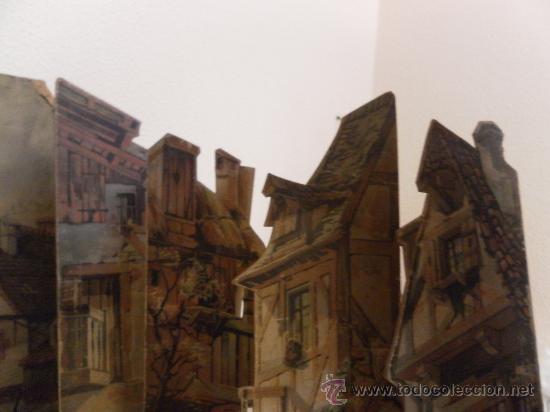 Antigüedades: Excepcional y antiguo. Teatro o Teatrillo. Época imperio. 1820/1840. - Foto 77 - 34266034
