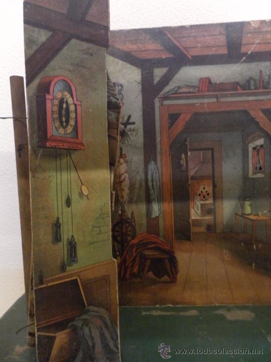 Antigüedades: Excepcional y antiguo. Teatro o Teatrillo. Época imperio. 1820/1840. - Foto 84 - 34266034
