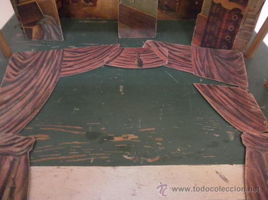 Antigüedades: Excepcional y antiguo. Teatro o Teatrillo. Época imperio. 1820/1840. - Foto 85 - 34266034
