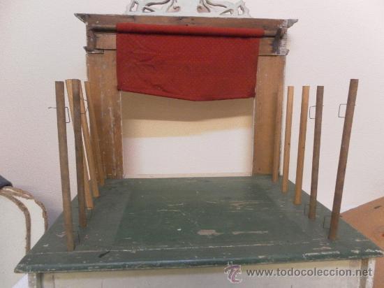 Antigüedades: Excepcional y antiguo. Teatro o Teatrillo. Época imperio. 1820/1840. - Foto 93 - 34266034