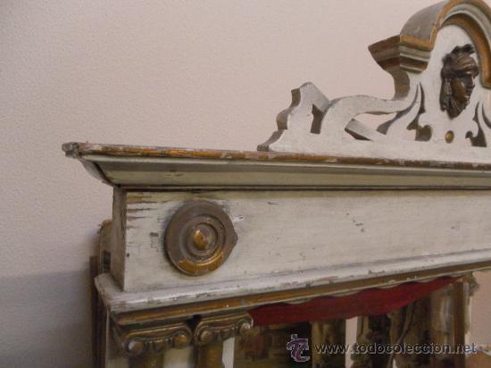 Antigüedades: Excepcional y antiguo. Teatro o Teatrillo. Época imperio. 1820/1840. - Foto 111 - 34266034