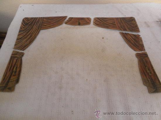Antigüedades: Excepcional y antiguo. Teatro o Teatrillo. Época imperio. 1820/1840. - Foto 116 - 34266034
