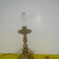 Antigüedades: CANDELABRO DE METAL. Lote 34271586