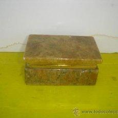 Antigüedades: CAJA ALABASTRO. Lote 34271625