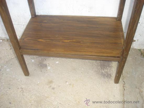 Antigüedades: mesa auxiliar - Foto 2 - 34271996