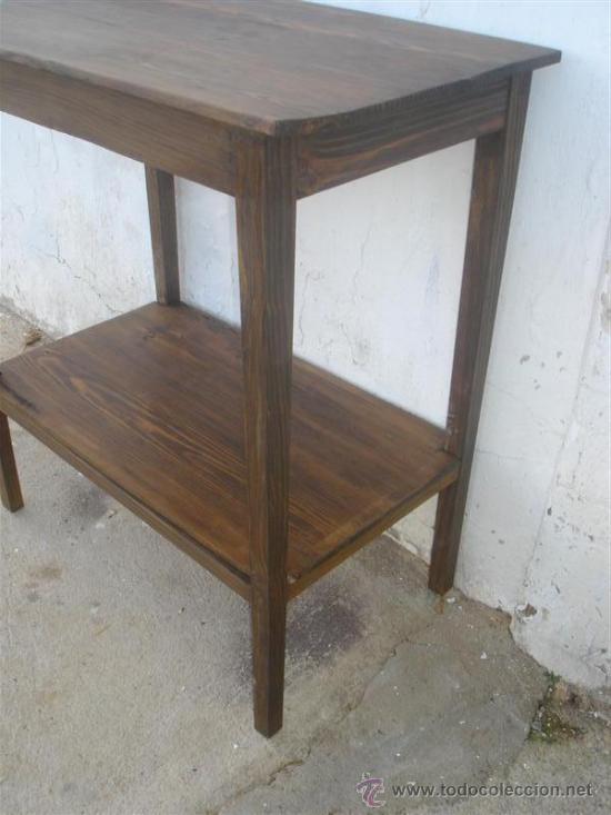 Antigüedades: mesa auxiliar - Foto 3 - 34271996