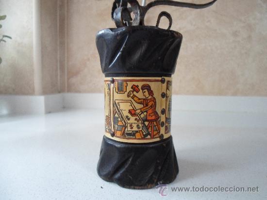 Antigüedades: ANTIGUO PORTAVELA - Foto 2 - 34278650