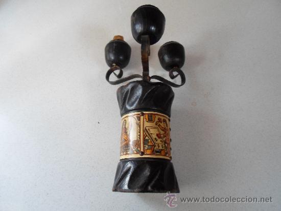 Antigüedades: ANTIGUO PORTAVELA - Foto 4 - 34278650