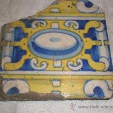 Antigüedades: AZULEJO . Lote 34293291