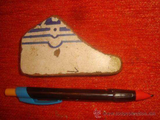 LOT.1 ANTIGUO TROZO AZULEJO ANDALUZ, SEVILLA / CADIZ, ANTIGUA CERAMICA (Antigüedades - Porcelanas y Cerámicas - La Cartuja Pickman)