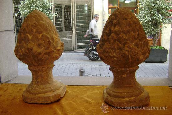 Antigüedades: GRAN PAREJA DE REMATES (RETIRAR EN TIENDA ) - Foto 3 - 185727736