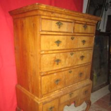 Antigüedades: CHEST AND CHEST EN MADERA DE CAOBA.. Lote 34405075