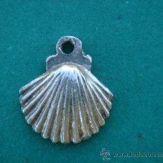 Antigüedades: MEDALLA ANTIGUA EN PLATA -VIEIRA-. DIMENSIONES.- 1,6X1,4 CMS. . Lote 34310095