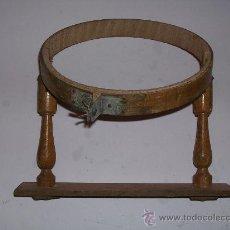 Antigüedades: ANTIGUO BASTIDOR O TAMBOR DE BORDAR 20 CM . Lote 34333811