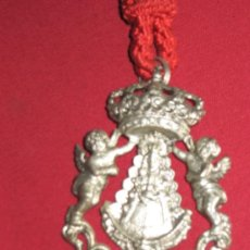 Antigüedades: MEDALLA DE LA VIRGEN DEL ROCIO DE LA HERMANDAD DE CORIA DEL RIO. Lote 34341656
