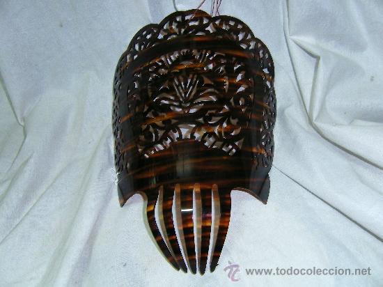 PEINETA ANTIGUA (Antigüedades - Moda - Peinetas Antiguas)