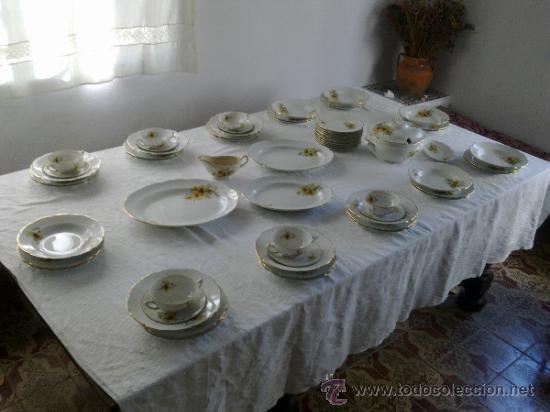 VAJILLA VARGAS SEGOVIA (Antigüedades - Porcelanas y Cerámicas - Otras)
