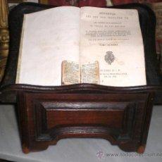 Antigüedades: BONITO Y SENCILLO ATRIL DE IGLESIA PARA LIBROS, S.XIX. Lote 34364191
