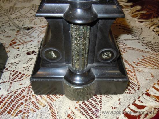 Antigüedades: PAR DE COPAS DE MARMOL NAPOLEON III SIGLO XIX - Foto 6 - 34361765