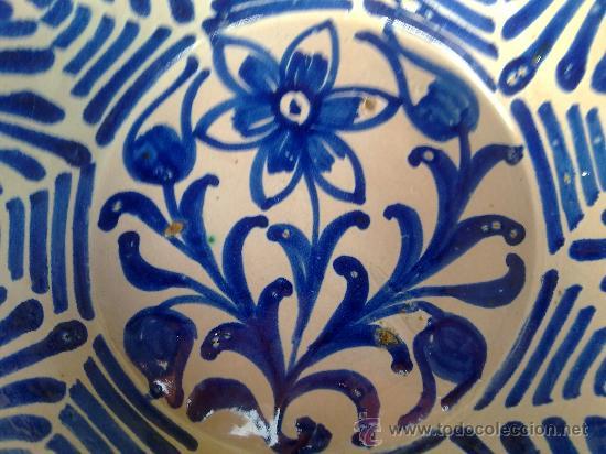 Antigüedades: antigua fuente de fajalauza. - Foto 3 - 34378600