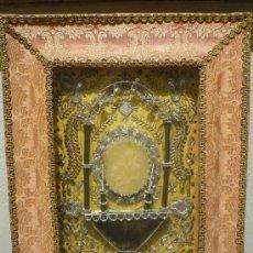 Antigüedades: RELICARIO CON SELLO PAPAL. SIGLO XVIII.. Lote 34414499