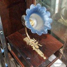 Antigüedades: APLIQUE , LAMPARA UNA LUZ. Lote 34436998