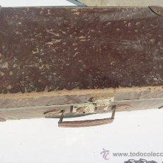 Antigüedades: ANTIGUO MALETIN DE FINALES DEL SIGLO XIX. Lote 34468732