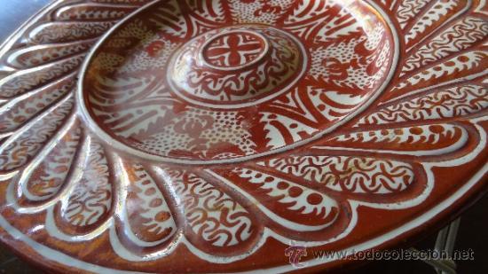 Antigüedades: REFLEJO METALICO XIX MANISES - Foto 2 - 34438365