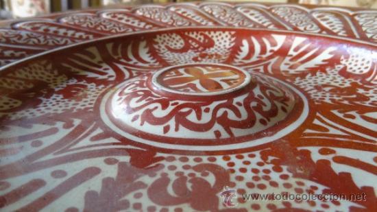 Antigüedades: REFLEJO METALICO XIX MANISES - Foto 3 - 34438365