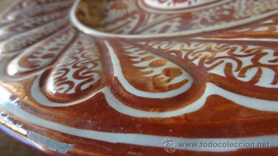 Antigüedades: REFLEJO METALICO XIX MANISES - Foto 4 - 34438365