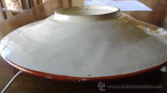 Antigüedades: REFLEJO METALICO XIX MANISES - Foto 6 - 34438365