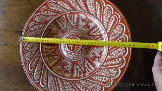 Antigüedades: REFLEJO METALICO XIX MANISES - Foto 7 - 34438365