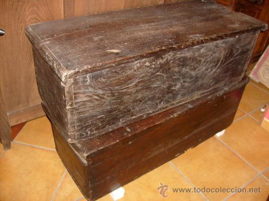 Antigüedades: baúl rústico - Foto 5 - 29432054