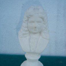 Antigüedades: PEQUEÑO BUSTO DE PIEDRA. Lote 34448701