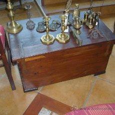 Antigüedades: BAÚL DE CEDRO RESTAURADO. Lote 34453459