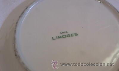 Antigüedades: PLATO PORCELANA LIMOGES CASTEL FRANCE IDEAL CASA MUÑECAS MINIATURA 9,5 CM. - Foto 4 - 34462852