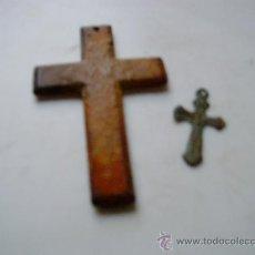 Antigüedades: 2 CRUCES ANTIGUAS.. Lote 34548507