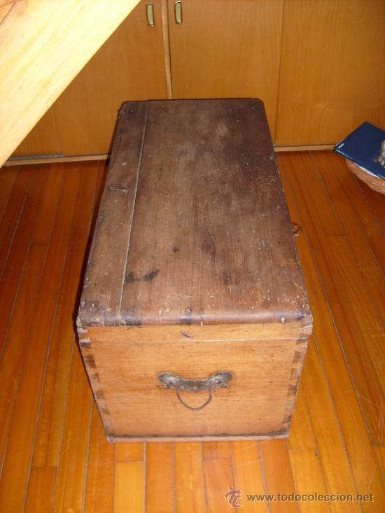 Antigüedades: baúl de cedro muy antigüo - Foto 2 - 34453439