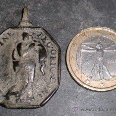 Antigüedades: ANTIGUA MEDALLA RELIGIOSA SIGLO XVIII. Lote 177755995