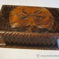 Antigüedades: ANTIGUA CAJA DE MADERA . Lote 34512702