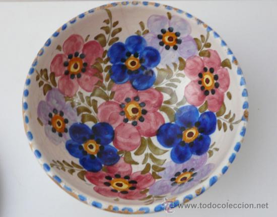 CERAMICA PINTADA A MANO (Antigüedades - Porcelanas y Cerámicas - Talavera)