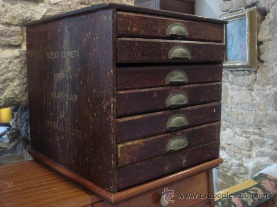 Antiguo mueble de merceria para hilos comprar muebles - Mobiliario antiguo segunda mano ...