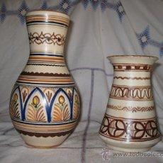 Antigüedades: LOTE DOS JARRAS ANTIGUAS DE CERAMICA DE TALAVERA.. Lote 34528820