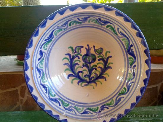 PRECIOSO LEBRILLO DE FAJALAUZA (Antigüedades - Porcelanas y Cerámicas - Fajalauza)