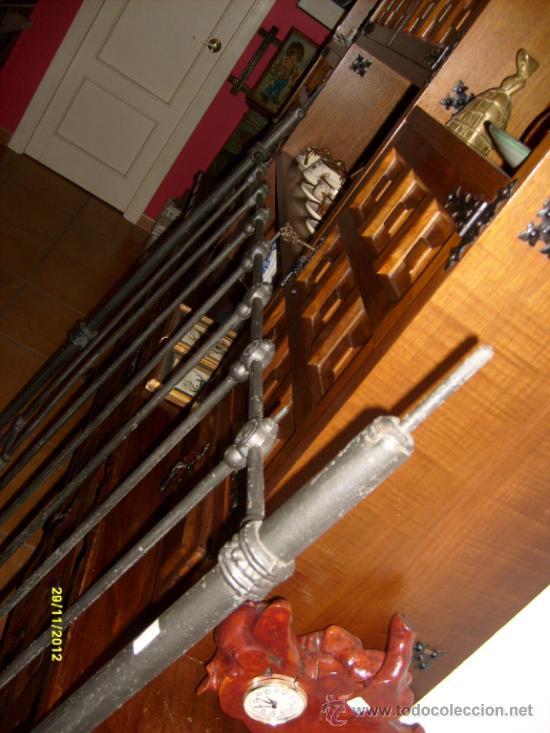 Antigüedades: cabecero cama de hierro - Foto 6 - 29047545