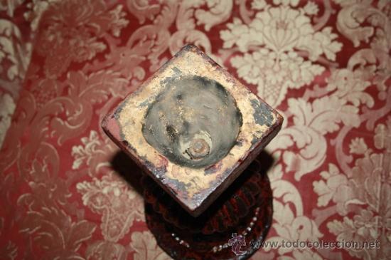 Antigüedades: PAREJA DE COPAS EN TERRACOTA. POBRABLEMENTE FRANCIA. SIGLO XIX -XX. - Foto 7 - 34541195
